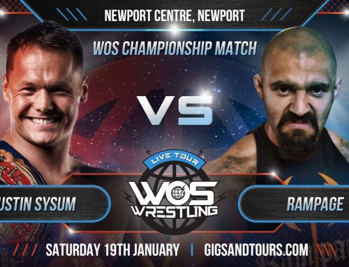 RT @JustinSysum: Only a couple of hours away from showtime in Newport! @WOSWrestling