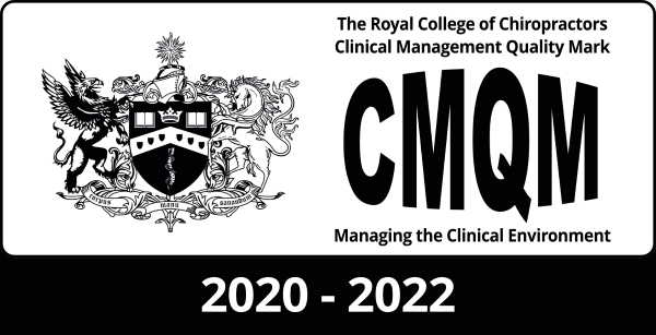 The Royal College of Chiropractors Clinical Management Quality Mark 2020-2022