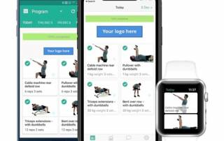 PhysiApp on various devices